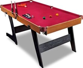 argos Hy-Pro 6ft Folding Snooker and Pool Table.
