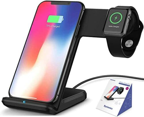 Wireless Charger 2 in1 Charge Dock