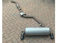 2018 BMW MSport exhaust for M140i