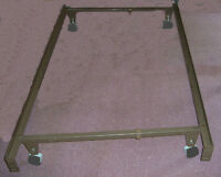 Metal Bedframe/Bed Frame on Wheels