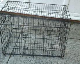 Black metal cage no base no13