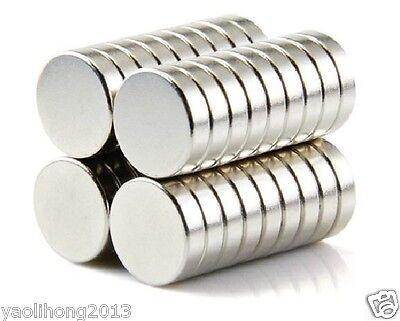 10-100pcs 12 X 3 mm Neodymium Disc Super Strong Rare Earth N50  Fridge Magnets