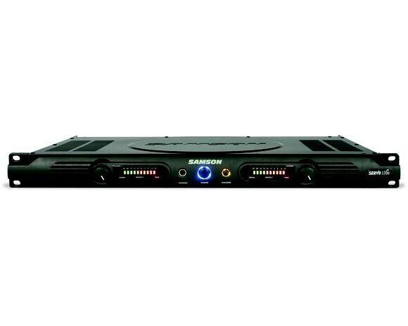 Samson Servo 120A 2-Channel Rack Mountable Stereo Power Amplifier