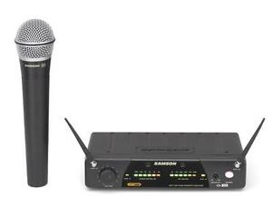 Samson   UHF  Wireless Handheld  Mic