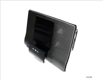 New Black Dock Speakers for iPod Nano Touch Classic MP3