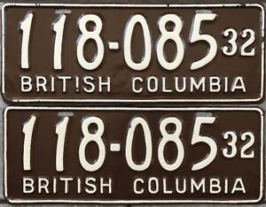 == Classic Car? RARE VINTAGE LICENSE PLATES ==  1920's to 1980's