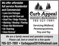 Snow Removal & Fall Clean Ups!