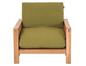 The Futon Company 'vienna' single bed Futon, green and wood