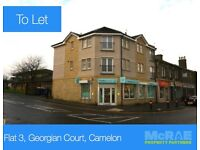 GOOD TENANTS WANTED FOR 2 BED EXECUTIVE FLAT, FLAT 3, GEORGIAN COURT, CAMELON, FK14PG