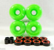 Green Skateboard Wheels