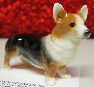 ➸ HAGEN RENAKER Dog Miniature Figurine Corgi