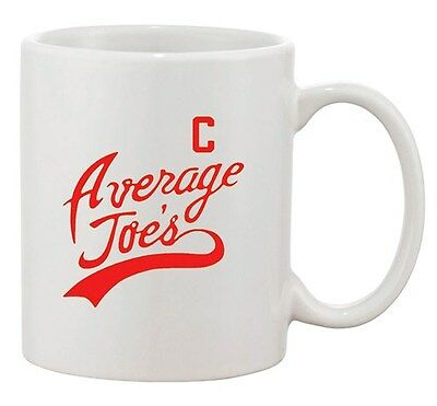 Average Joe's Movie Costume Dodge Ball Halloween DT Ceramic White Coffee - Average Joe's Halloween