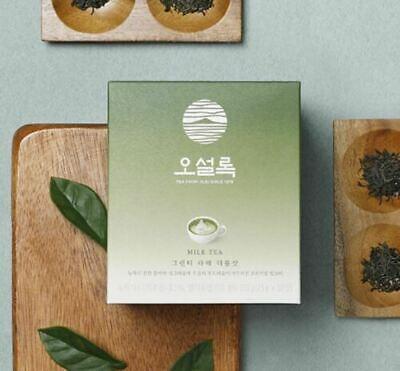 NEW OSULLOC Jeju Green Tea Latte Double shot Premium Milk Tea 10Bags
