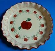 Apple Pie Plate