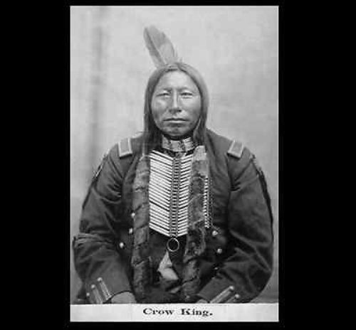 Crow King War Chief PHOTO Lakota Sioux Indian Battle of Little Bighorn SURVIVOR