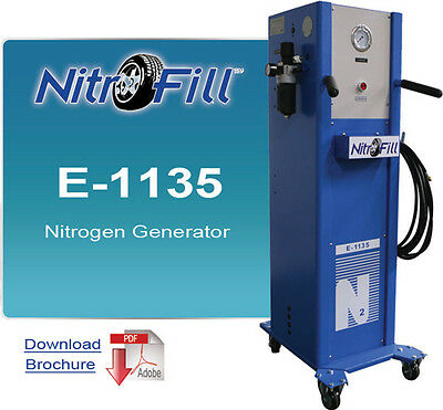 Nitrofill E-1135 Nitrogen Generator - Best For Industrial Use - Not For Tires