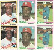1978 Topps Baseball Card Lot