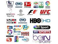 IPTV SUBSCRIPTIONS AND ANDROID SMART TV BOXES AVAILABLE