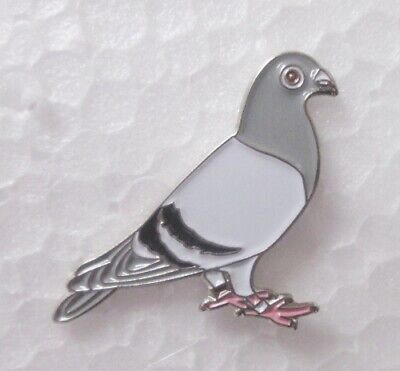 PIGEON RACING / WOOD LOFT LAPEL PIN BADGE BROOCH 100's OF OTHER PINS LISTED 1-42