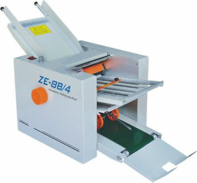 Brand New Automatic Paper Folding Machine Paper Folder Machine Ze-8b4 4 Fold Pl