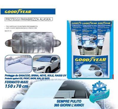 Telo Copri Auto Copri Parabrezza Antighiaccio Antineve Sole 150x70 Cm Good Year