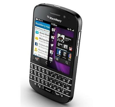 BlackBerry Q10 - 16GB -Black (Unlocked)Smartphone Cell Phone GSM AT&T T-Mobile