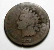 1872 Indian Head Penny