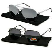 Sunglasses Aviator Mirror Polarized