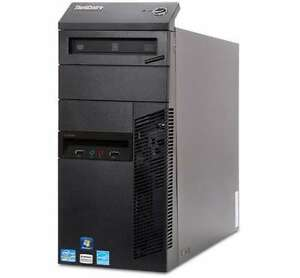 Lenovo M92p i5 3470 3.2ghz Quad 4GB RAM 500GB HDD Win7 USB3.0