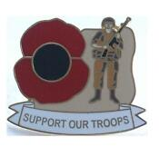 Poppy Lapel Badge