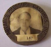 Vintage Employee Badge