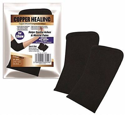 1 X Copper Healing Compression Elbow Brace Bandage Support Wrap Strap