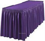 Purple Table Cloth