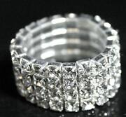 Ladies Diamante Rings