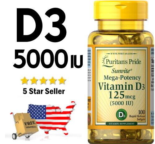 puritan mega potency vitamin d3