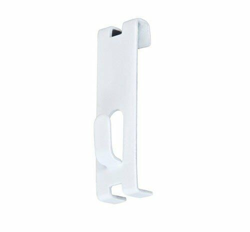 Only Hangers Gridwall Picture Hooks For Grid Panels box of 40- White