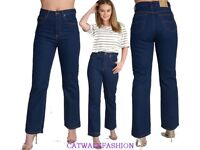 20x Wholesale Job Lot Womens Bootleg Cut Jeans High waisted Flare Denim Pants Open To Offers