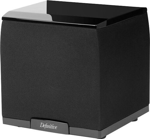 "Definitive Technology 7-1/2"" 650W Powered Subwoofer Black SuperCube 2000"
