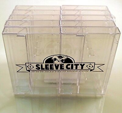 Clear Norelco Cassette Case (10 Pack)
