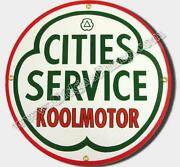 Cities Service Sign