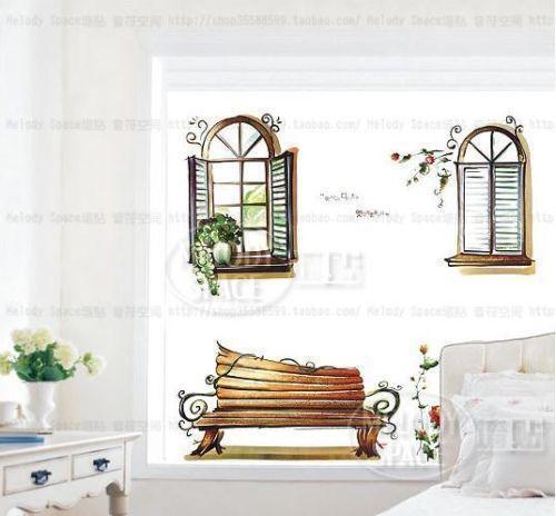 Window Scene Wall Decals
