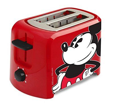 Disney Mickey Mouse Dcm21 2 Slice Toaster Rojo / Negro