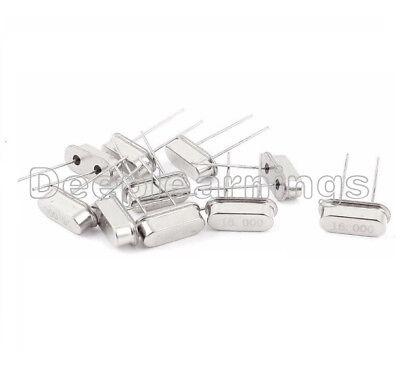 100pcs16mhz 16.000mhz 16m Hz Hc-49s Inline Feet Passive Crystal Oscillator
