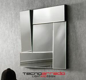 Specchio particolare per camere bagni ingressi 70x70x5 - Specchi da camera moderni ...