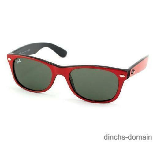 Ray Ban Wayfarer Sunglasses Black Red White Frame