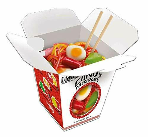 Raindrops Gummy Noodles in Takeout Carton, 3.88 Ounce