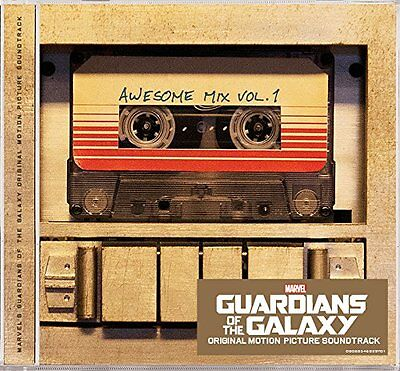 Guardians Of The Galaxy Cd Soundtrack   Awesome Mix Vol 1  2014    New Unopened