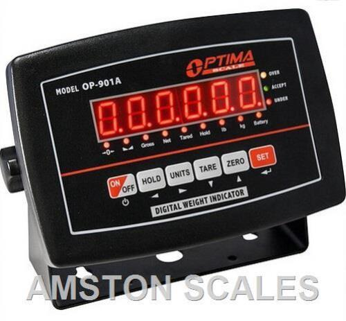 SCALE DISPLAY CONTROLLER BRAIN COMPUTER SENSOR WEIGHING FORCE GAUGE BATTERY LED