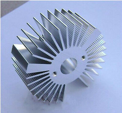 2pcs 5w Watt Led Aluminium Heatsink Round