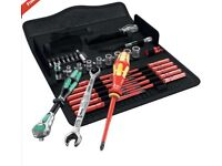 WERA 35 Pc Kraftform Kompakt Maintenance Screwdriver Socket & Ratchet set brand new unused